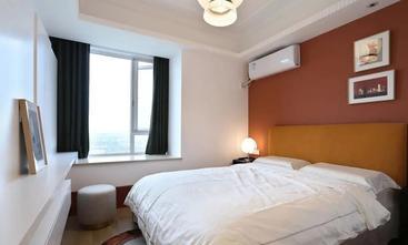 3-5万90平米三室一厅新古典风格卧室欣赏图