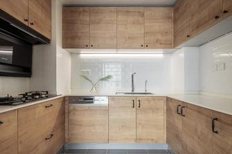 3万以下100平米三室两厅北欧风格厨房欣赏图