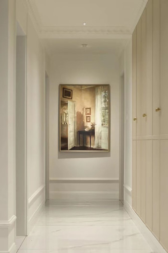 20万以上140平米四室两厅现代简约风格走廊图片