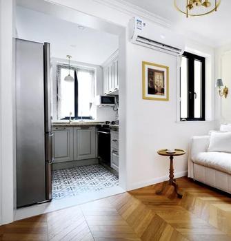 3万以下40平米小户型法式风格厨房图