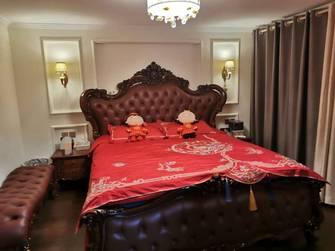 富裕型140平米一居室美式风格卧室装修案例