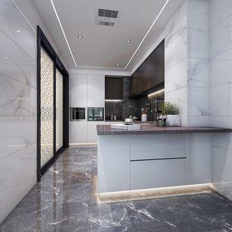 140平米四轻奢风格厨房设计图