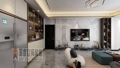 5-10万120平米四室三厅现代简约风格客厅图片