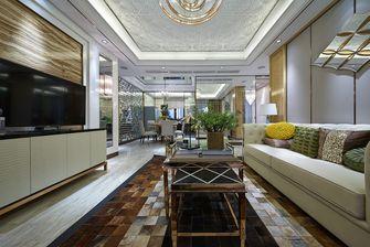 140平米四轻奢风格客厅装修案例