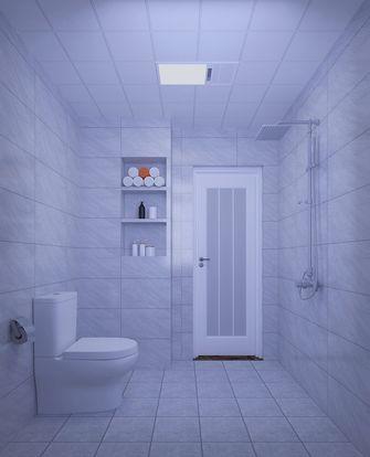 10-15万90平米现代简约风格卫生间装修图片大全