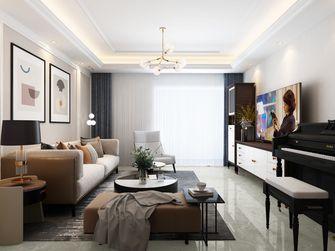 20万以上110平米三室一厅混搭风格客厅装修案例
