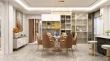 140平米三欧式风格餐厅设计图