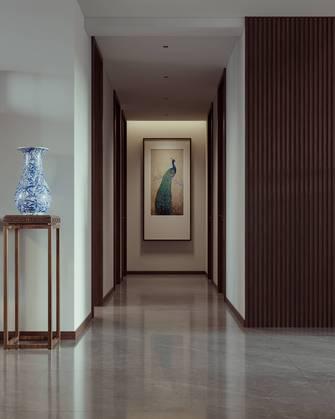140平米三室两厅中式风格走廊装修图片大全