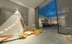 10-15万140平米三室两厅中式风格阳光房装修图片大全
