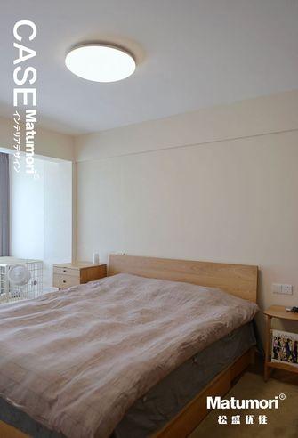 20万以上50平米公寓日式风格卧室效果图