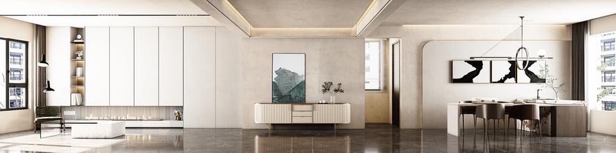 豪华型140平米三室一厅现代简约风格客厅图片大全