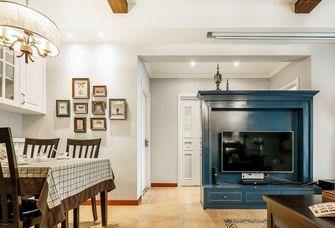 经济型80平米三室三厅美式风格客厅装修案例