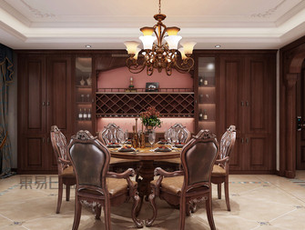 140平米复式新古典风格餐厅图