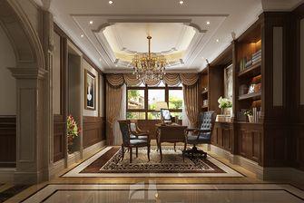 140平米别墅欧式风格书房设计图