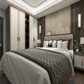 三室两厅新古典风格卧室效果图