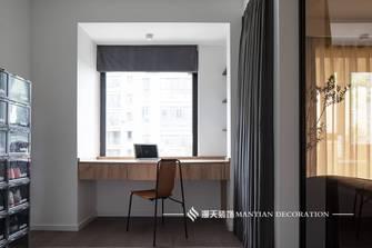 豪华型120平米三室两厅工业风风格书房图片