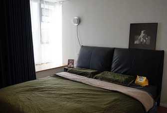 110平米三日式风格卧室装修图片大全