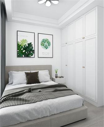 80平米北欧风格卧室图