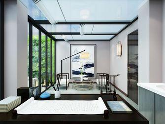 140平米中式风格客厅装修图片大全