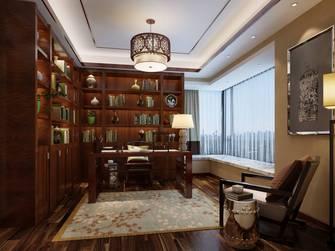 豪华型140平米四室四厅中式风格书房效果图