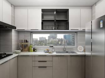 10-15万140平米三室两厅轻奢风格厨房装修案例