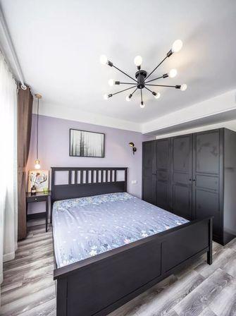 5-10万60平米一居室北欧风格卧室图片