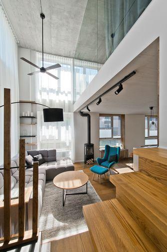 140平米复式工业风风格客厅欣赏图