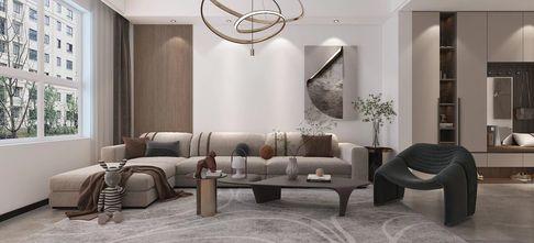 20万以上120平米三现代简约风格客厅装修效果图