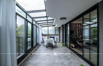 富裕型130平米三室两厅北欧风格阳台欣赏图