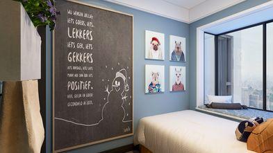 豪华型四室两厅轻奢风格卧室装修图片大全