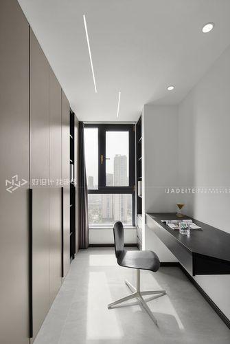 豪华型120平米三室两厅现代简约风格书房装修案例