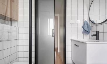 富裕型100平米三室两厅北欧风格卫生间图