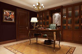 豪华型140平米别墅美式风格书房装修图片大全