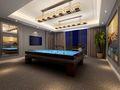 140平米别墅美式风格健身房效果图