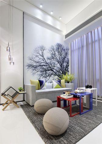 5-10万50平米一室一厅北欧风格客厅设计图