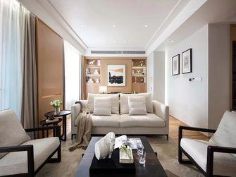 110平米三室一厅日式风格客厅装修图片大全