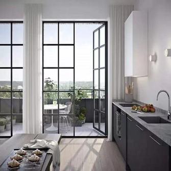 140平米三室一厅北欧风格客厅欣赏图