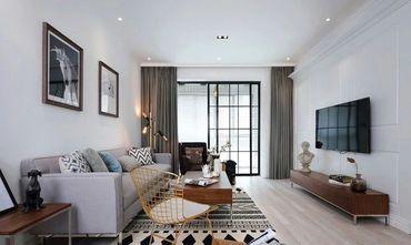 120平米三室一厅北欧风格客厅欣赏图