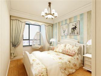 10-15万140平米三室一厅田园风格卧室图