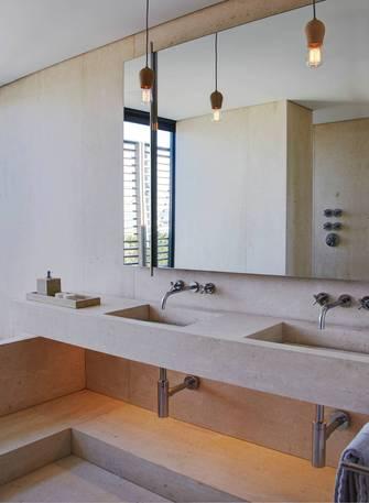 豪华型140平米别墅混搭风格卫生间图