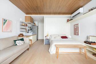 经济型30平米以下超小户型现代简约风格客厅装修案例