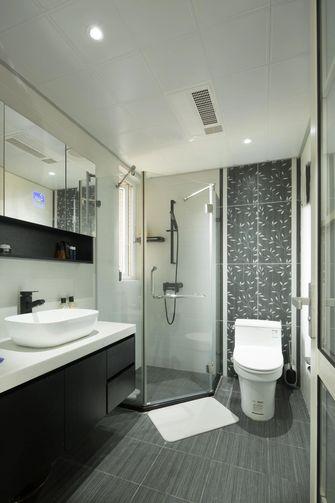 110平米三室一厅轻奢风格卫生间装修图片大全