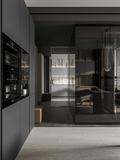 10-15万120平米三室两厅现代简约风格衣帽间效果图