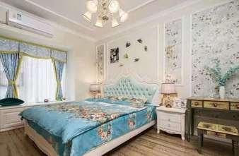 100平米四室两厅欧式风格卧室设计图