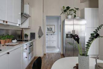 10-15万70平米三室两厅英伦风格厨房效果图