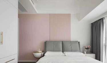 经济型90平米三室两厅法式风格卧室图