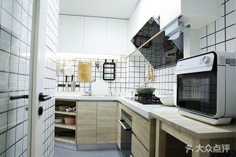 3-5万60平米一室一厅日式风格厨房图片