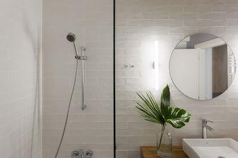 富裕型80平米现代简约风格卫生间装修图片大全