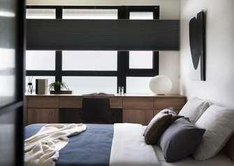 富裕型40平米小户型工业风风格卧室效果图