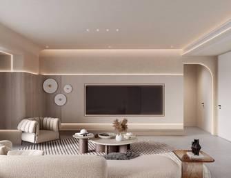 豪华型120平米四室一厅混搭风格客厅装修案例